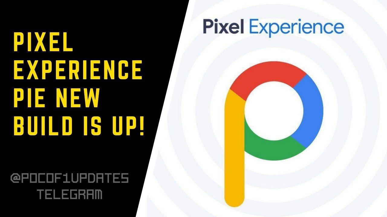 PE #ROM #OFFICIAL #PIE Pixel Experience Official Pie 💥 Updated 2018