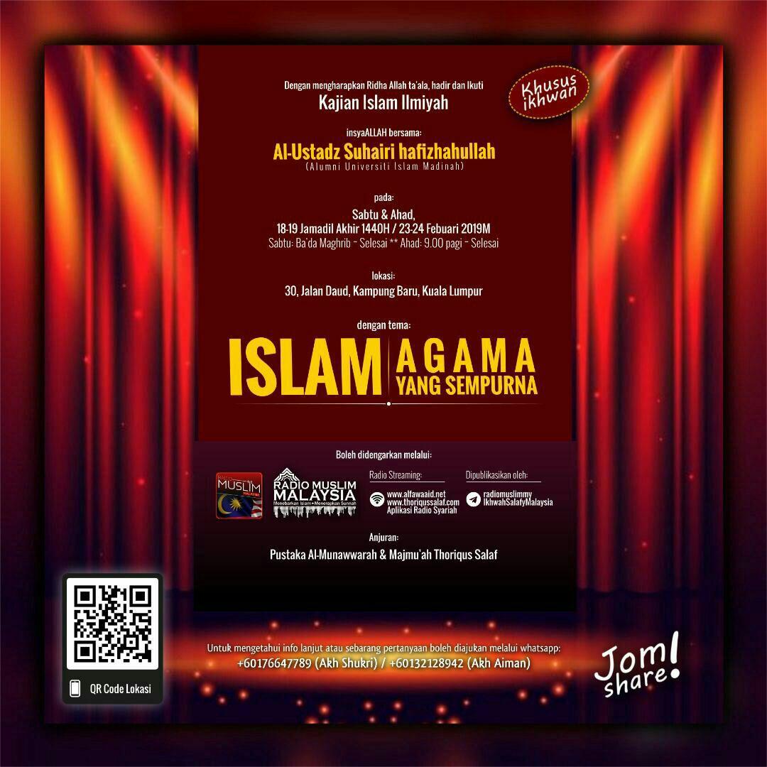 📌 Malaysia, (Kuala Lumpur), 23-24, Feb 2019